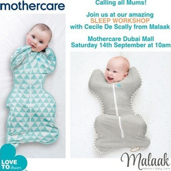 Love To Dream Sleep Workshop at Mothercare Dubai with Cecile from Malaak