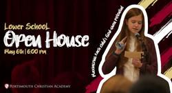 Lower School Open House (PreK-8)