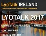 Lyotalk Ireland 2017 - Ireland's largest conference on Freeze Drying/lyophi