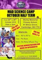 Mad Science Cambridge City October half term camp