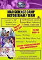 Mad Science Fulbourn October half term Camp