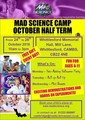Mad Science Whittlesford October half term Camp