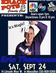 Magician Eric Thompson