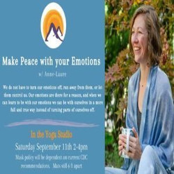 Make peace with your emotions