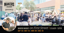 Makers Market on First Street