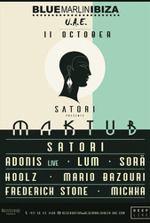 Maktub by Satori with Adonis (Live), Lum, Sorä & more