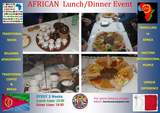 African dish in Malta,Travelling to Africa ! (Every 2 weeks)