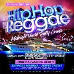 Manhattan Hip Hop vs Reggae® Midnight Summer Cruise Skyport Marina Jewel