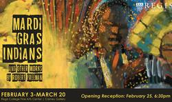 Mardi Gras Indians Exhibit - Free Public Reception