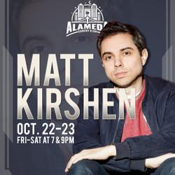 Matt Kirshen at the Alameda Comedy Club
