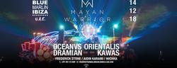 Mayan Warrior Fundraiser at Blue Marlin Ibiza Uae