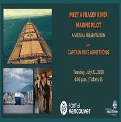Meet a Fraser River Marine Pilot