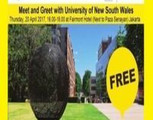 Meet and Greet with University of New South Wales (unsw), Sydney Australia