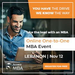 Meet online some of the world's best business schools on November 12th