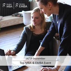 Meet top Mba programs from around the world at a boutique onsite and online event