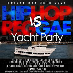 Memorial Day Weekend Hip Hop vs Reggae® Nyc Sunset Cruise Skyport Marina Jewel Yacht