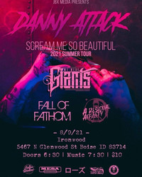 Metal Monday w/ We Were Giants, Fall of Fathom, A Residual Affinity, and Danny Attack!