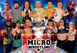 Micro Wrestling: Battle Royale!