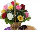 Midnight cake delivery in noida,online florist delhi