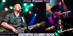 Mike Massé Trio at Soiled Dove: Epic Acoustic Classic Rock