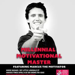 Millennial Motivational Master Feat. Marcus the Motivator, A Seminar Parody