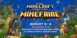 Minefaire: Official Minecraft Community Event (Edison, Nj) (Exhibition)