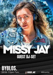 Missy Jay Announces Upcoming Performances in Alicante, Spain