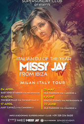Missy Jay Best Italian Female Dj of the Year