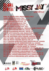 Missy Jay Us Tour w/ Fiamma Fumana at Canadian Festival