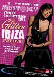 Missy Jay at Cocoon Lounge Bahrain for Glitter Ibiza