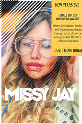 Missy Jay at Dusit Thani, Dubai Uae