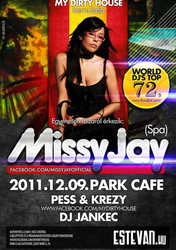 Missy Jay at Park Club, Hungaria