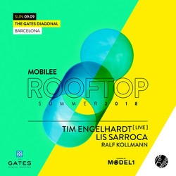 Mobilee Rooftop with Tim Engelhardt -Live-, Lis Sarroca, Ralf Kollmann