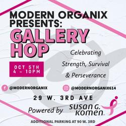 Modern Organix Presents: Gallery Hop Powered by Susan G. Komen