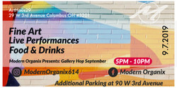 Modern Organix Presents: Gallery Hop September