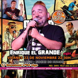 Monólogo de Enrique El Grande en Vigo