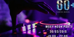 Moxy Neon Party x Earth Hour