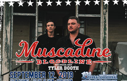 Muscadine Bloodline Live at The Bluestone September 12 2019