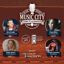 Music City Comes to Madison, Round #2: a Nashville In the Round Singer-Songwriter Series