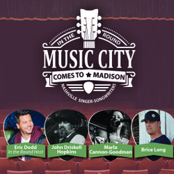 Music City Comes to Madison: a Nashville In the Round Singer-Songwriter Series