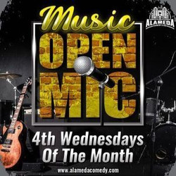 Music Open Mic at the Alameda Comedy Club