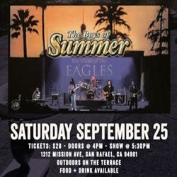 Music at the Mansion - Boys of Summer