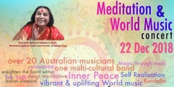 Music of Joy! A Meditation and World Music Concert...