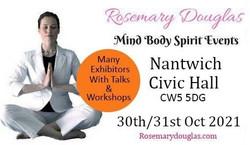 Nantwich, Mind Body Spirit Event 2021