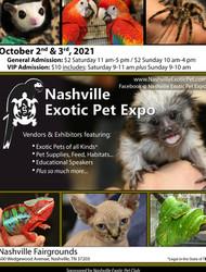Nashville Exotic Pet Expo