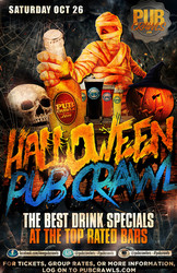 Nashville Halloween Weekend Pub Crawl (Music Row) - October 2019