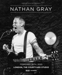 Nathan Gray at The Courtyard Studio, London