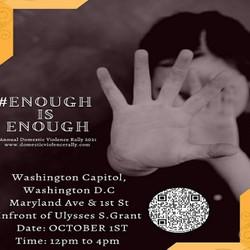 National Domestic Violence Rally and Vigil at Washington Capitol