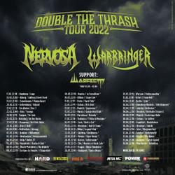 Nervosa and Warbringer - Double The Thrash at The Underworld Camden - London