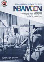 New Moon: A Night of New Music Live at Half Moon Putney Monday 13th January